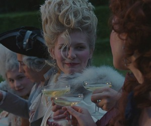 champagne, marie antoinette, and kristen dunst image