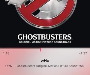 zayn malik, Ghostbusters, and songs image