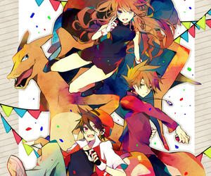 pokemon, red, and trainer red image
