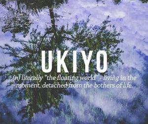 japanese, ukiyo, and words image