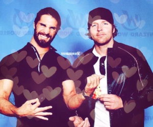 wwe, seth rollins, and dean ambrose image