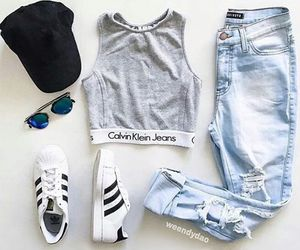 fashion, adidas, and Calvin Klein image