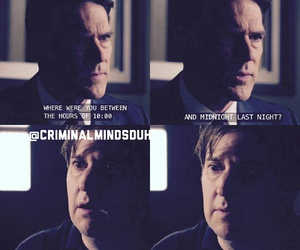 criminal minds, aaron hotchner, and edit image