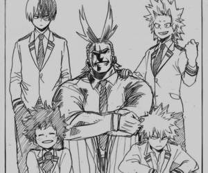 manga, boku no hero academia, and my hero academia image