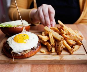 food, egg, and eggs image