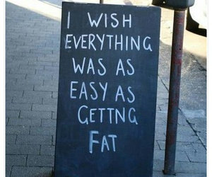 fat, funny, and quotes image