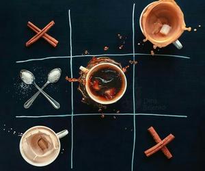 coffee, Cinnamon, and sugar image