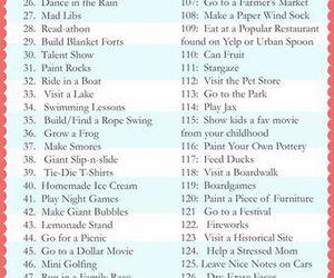 list, summer, and bucket list image
