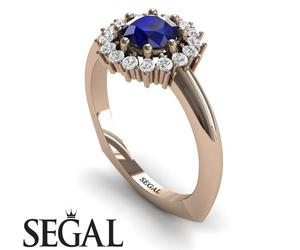 unique engagement rings, segal jewelry, and segal jewellery image