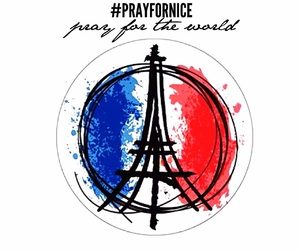 france, nice, and prayfor image