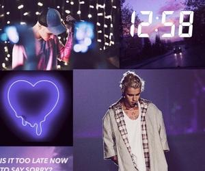 purple, purpose tour, and tumblr image