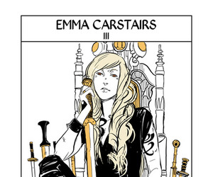 emma carstairs, shadowhunters, and the warrior image
