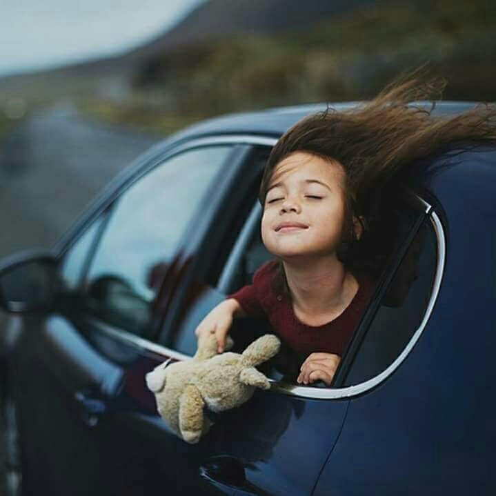 car, kids, and children image