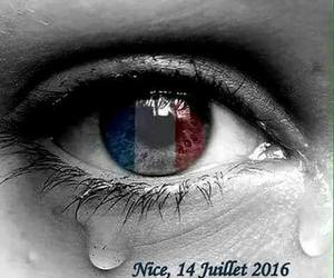 france, nice, and pray for the world image