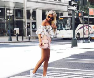 blonde, fashion, and new york image