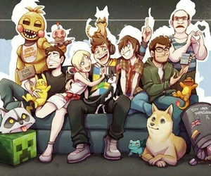rubius, alexby, and mangel image