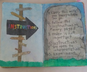 instructions and wreck this journal image