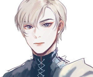 cute boy, anime boy, and captive prince image