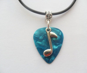 choker, guitar, and necklace image