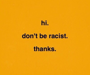 discrimination, racism, and racist image