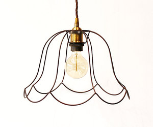 ceiling light, etsy, and home decor image
