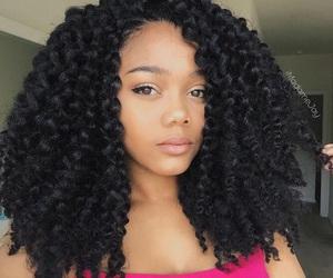 beautiful, big hair, and curly image