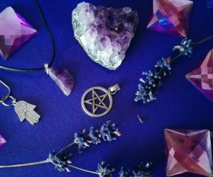 crystal, lavender, and purple image