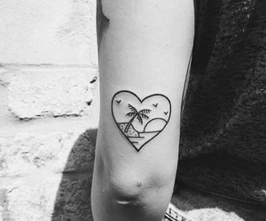 black and white, tattoo, and Tattoos image