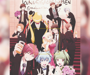anime, assassination classroom, and karma image