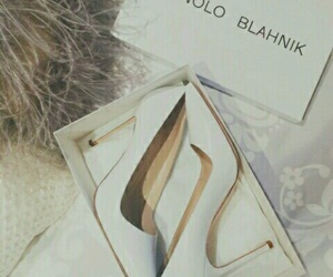 Blanc, shoes, and talons image