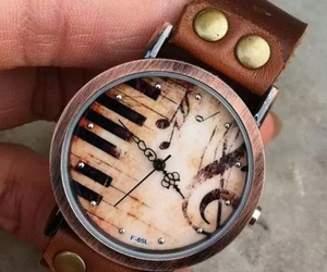 watch, music, and piano image