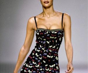 azzedine alaia, model, and runway image