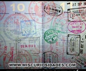 Dream and passport image