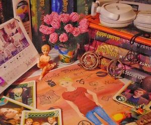 art, book, and calendar image