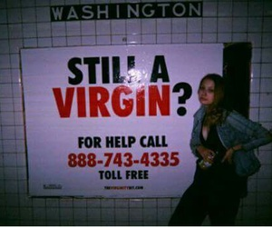 call, sex, and virgin image