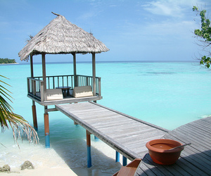 maldives beach blue image