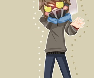 chibi, hoodie, and kawaii image