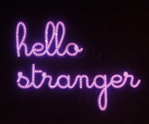 hello, strangers, and light image