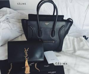 fashion, celine, and YSL image