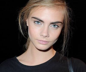 cara delevingne, model, and eyes image