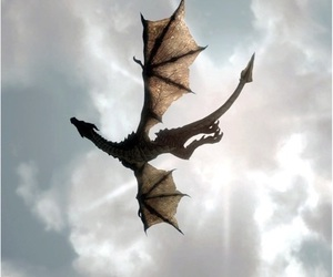 dragon, game of thrones, and mother of dragons image