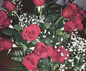 flowers, romantic, and Valentine Day image