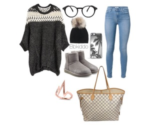 beauty, clothing, and Polyvore image