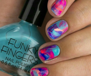 colors, manicure, and nail art image