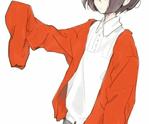 anime girl, beautiful, and art image