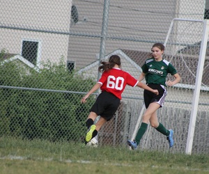 girl, passion, and soccer image