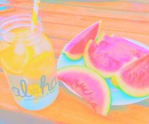 lalala, neon, and summer image