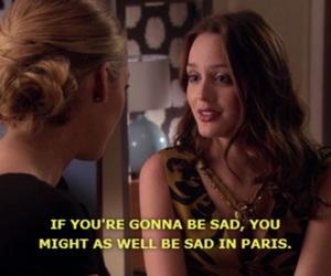 gossip girl, paris, and quotes image