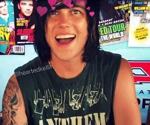 kellin quinn, sleeping with sirens, and bands image