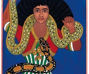 black, snakes, and spirituality image